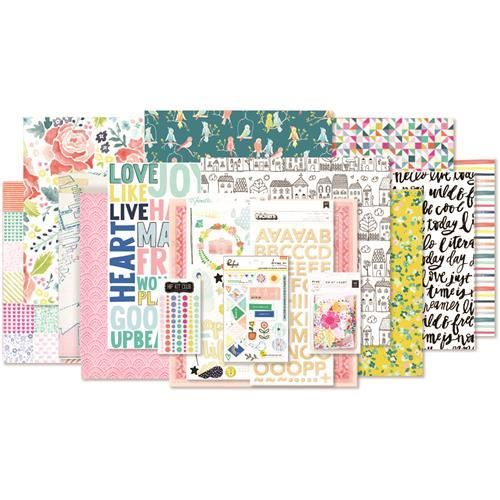 Hip Kits, March 2017, Featuring the Dear Lizzy Lovely Day Collection.