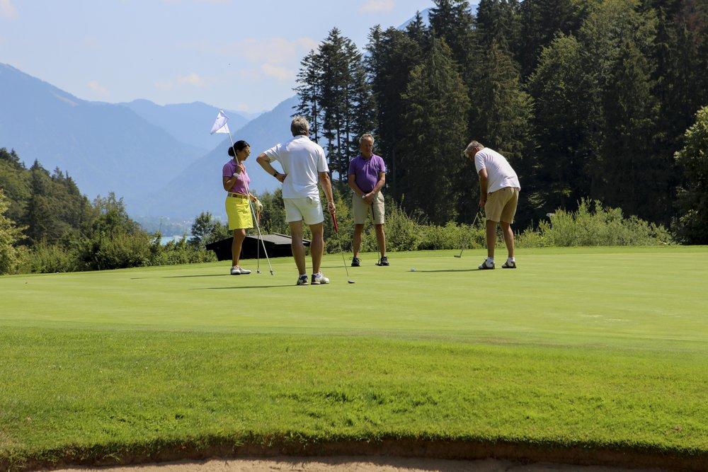 Engagierte Golfer*innen
