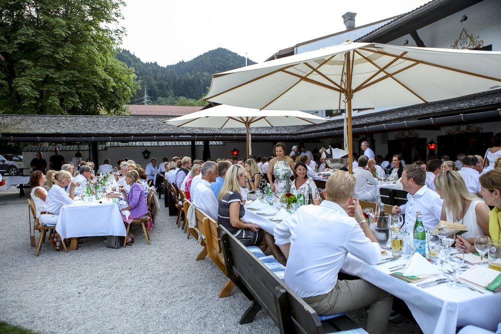 Abend-Gala im Tegernseer Golf-Club Bad Wiessee