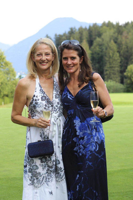 Katja Mankell (Direktorin Hotel Bachmair Weissach) und Katarina Hesedenz (Vogue)