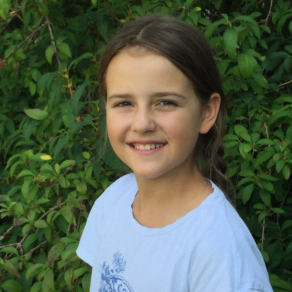 Die 10-jährige Luise ist im CHILDREN Kinderbeirat aktiv.