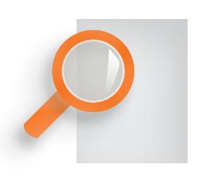 Icon symbolizing transparency.