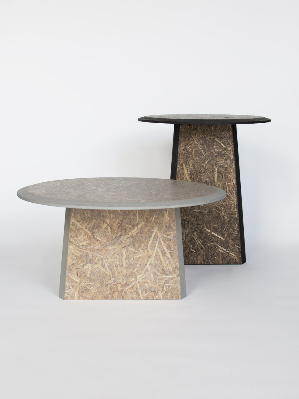 Straw sidetables -gray and black_front view 1- David Deksen Design.jpg
