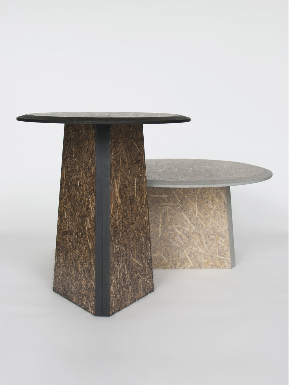 Straw sidetables -gray and black_front view 2- David Derksen Design.jpg