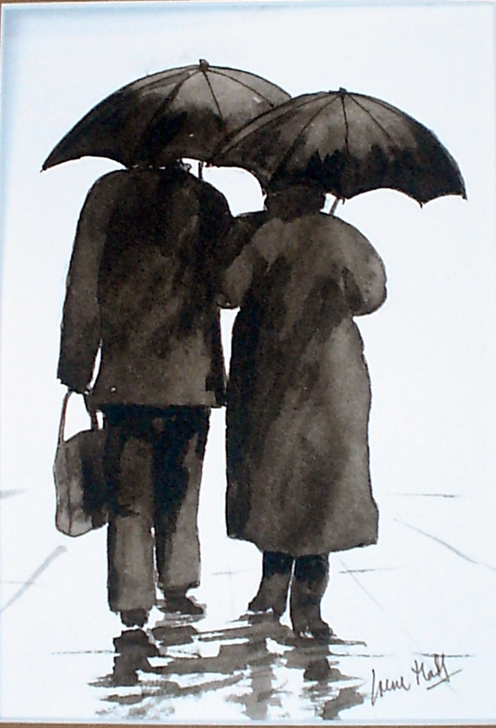 Never Mind the Weather (Watercolour)
