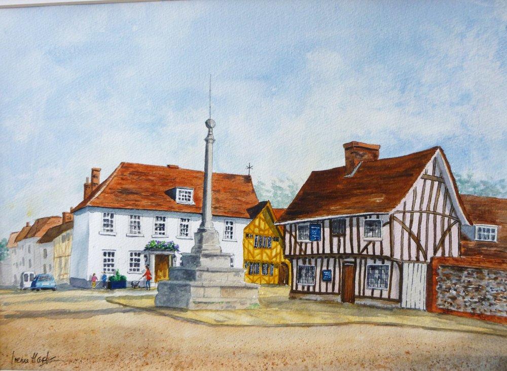 The Market Cross, Lavenham (Watercolour)