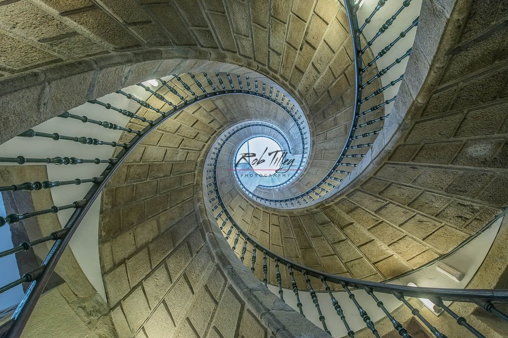 Triple Spiral Staircase
