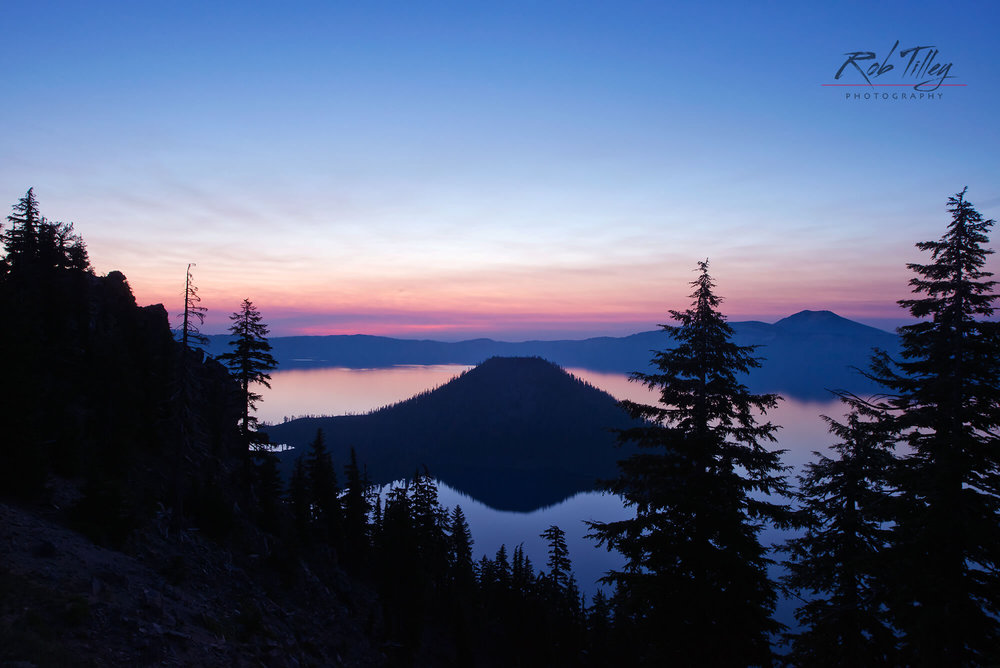 Crater Lake Dawn I