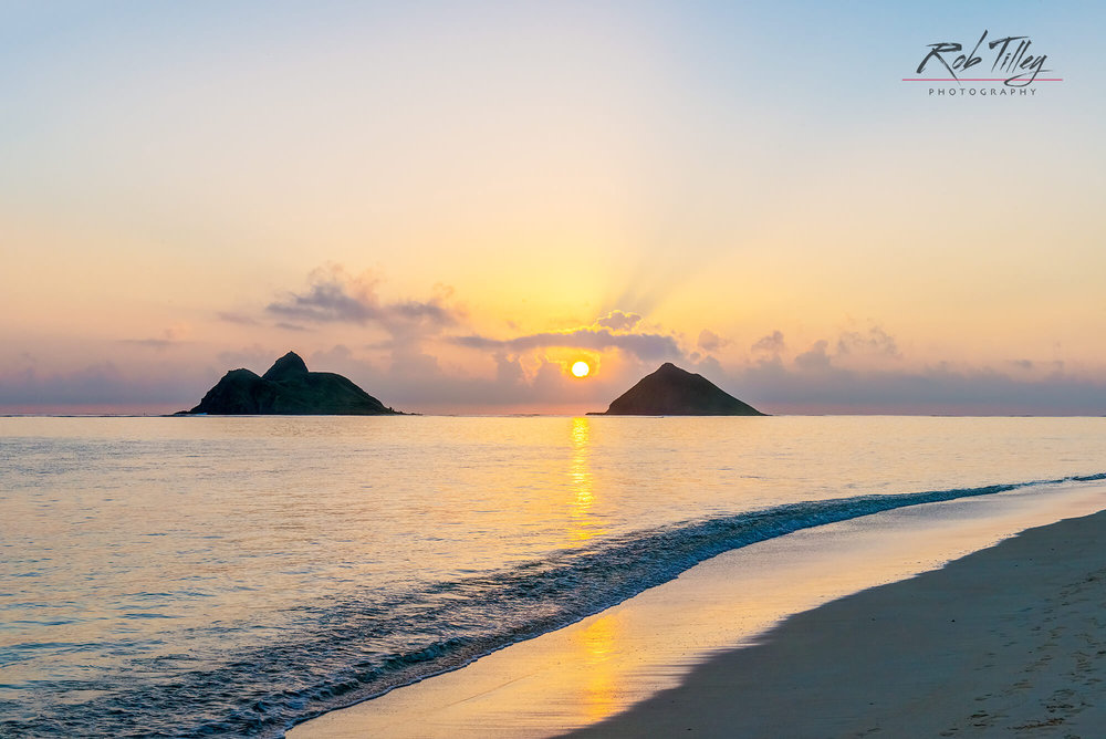 Lanikai Beach Sunrise I