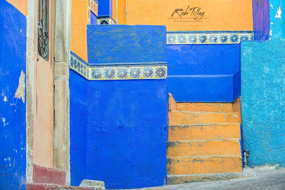 Orange Steps