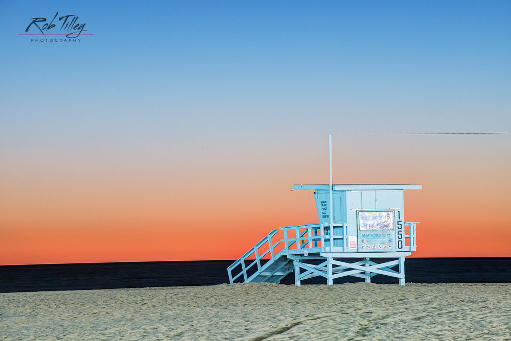 Santa Monica Beach Sunset I.jpg