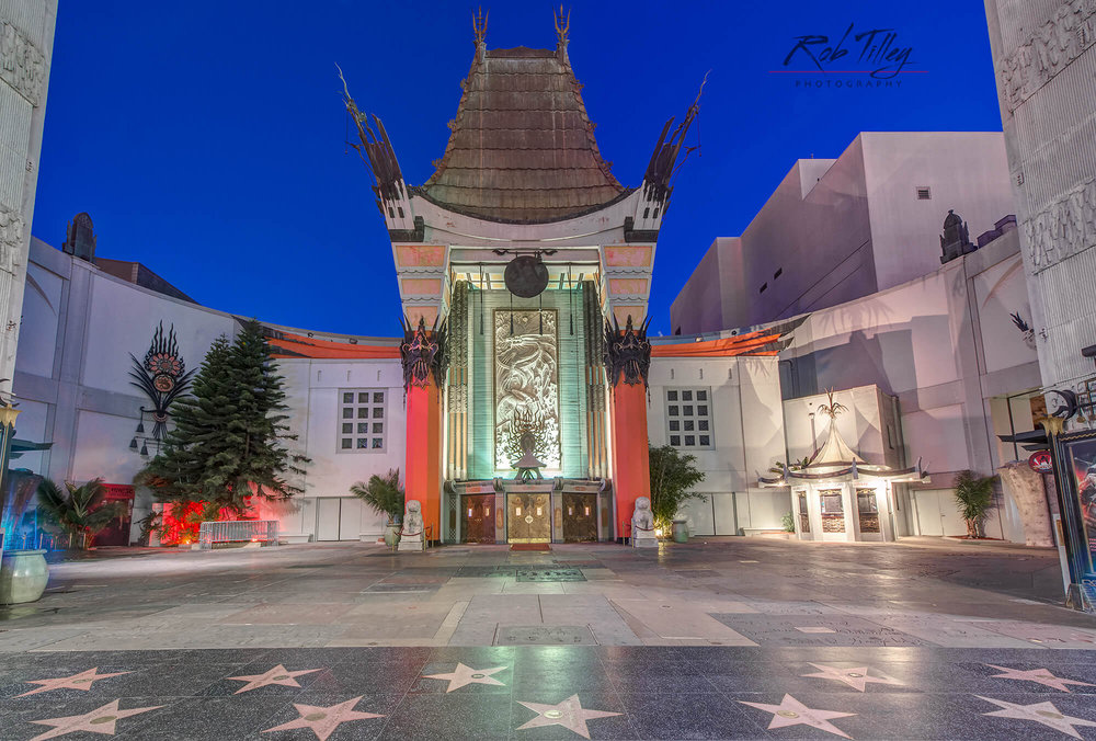Grauman's Chinese Theater Dawn I