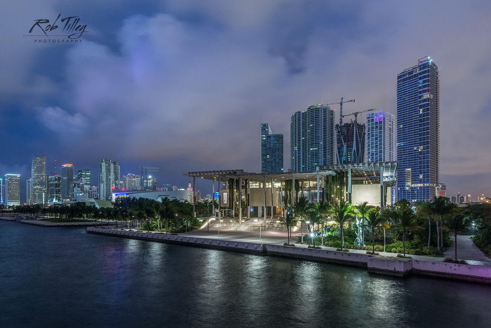 Miami Waterfront Dawn