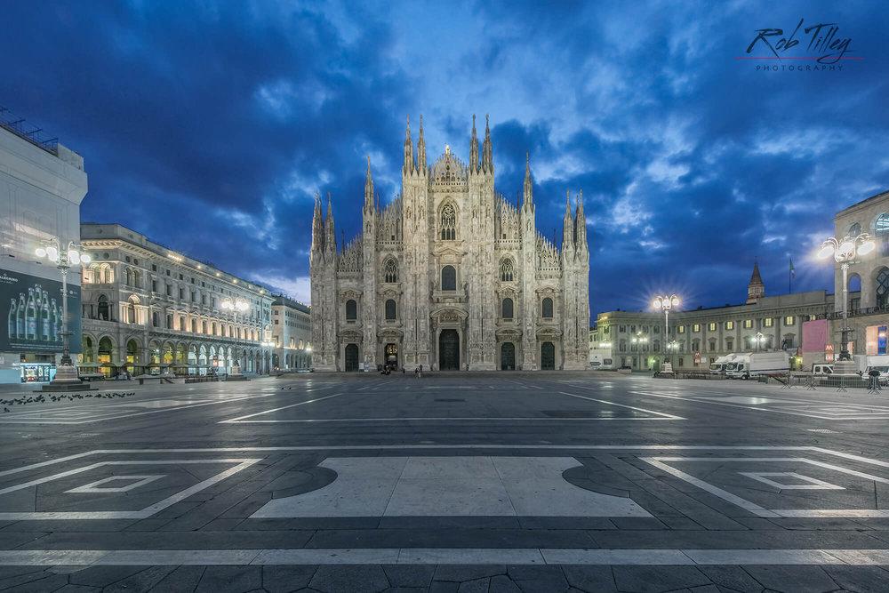 Milan Cathedral Dawn I