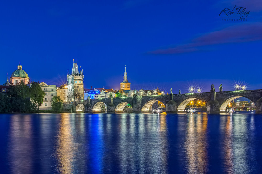 Twilight Charles Bridge I