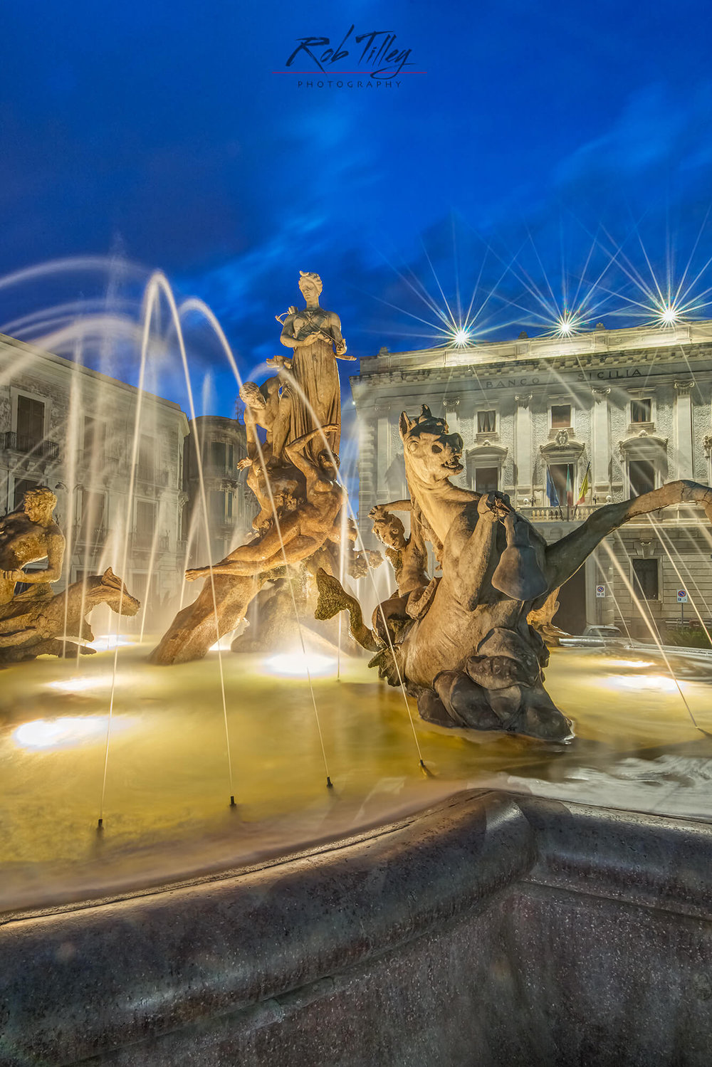 Twilight Piazza Archimedes II