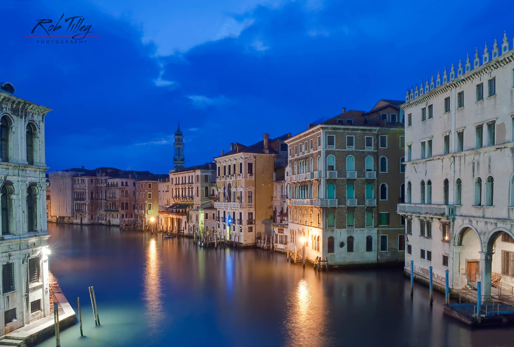 Rialto Bridge Dawn