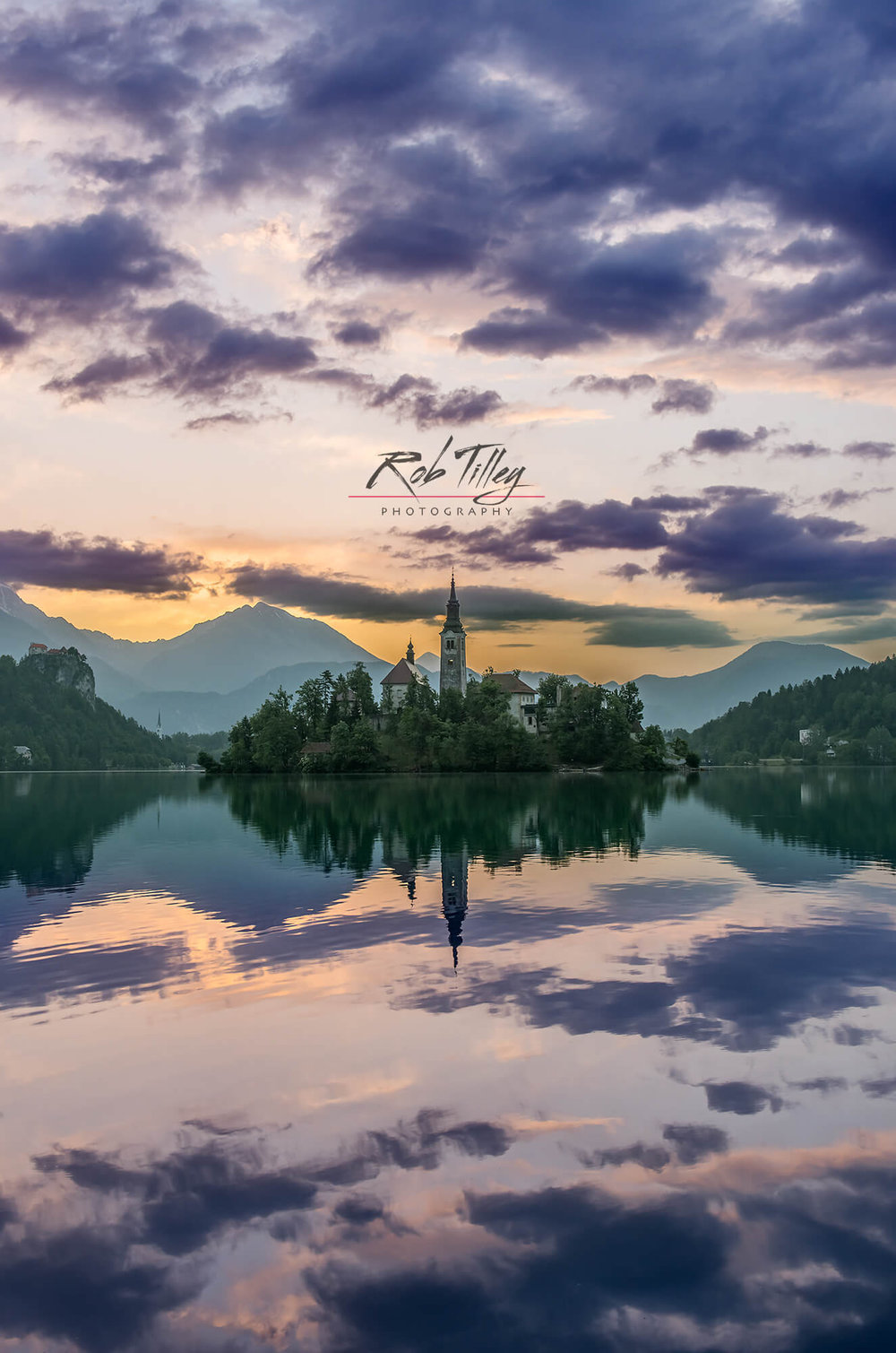 Lake Bled Dawn II