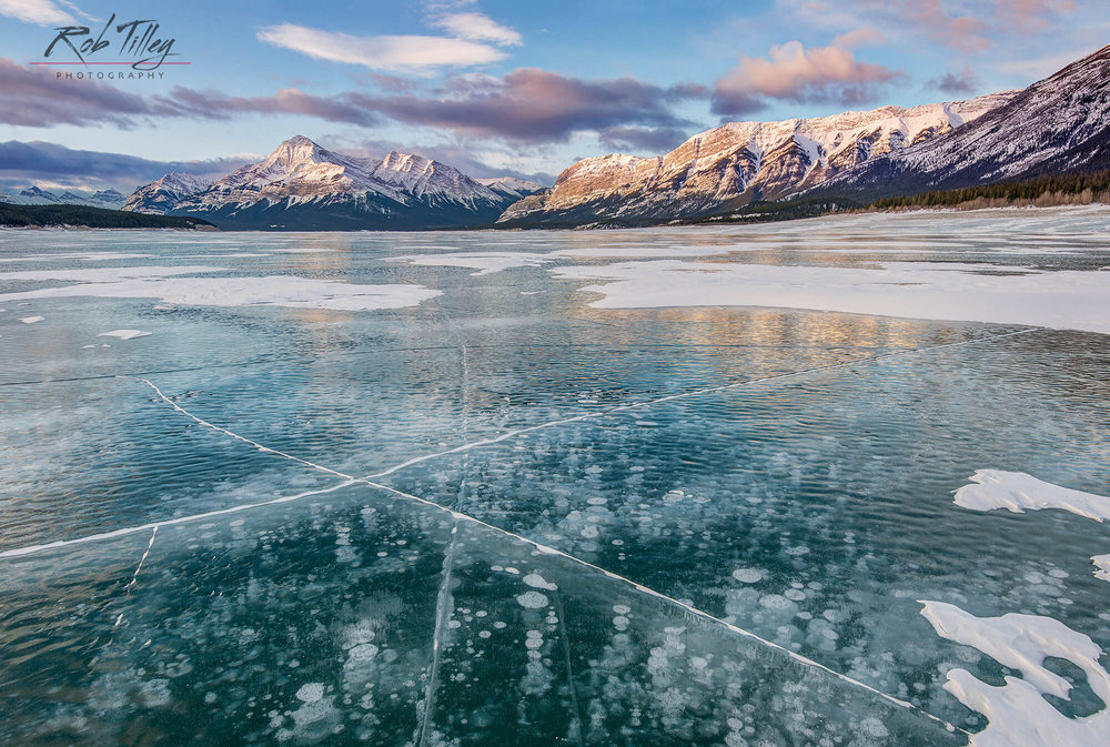 Abraham Lake First Light