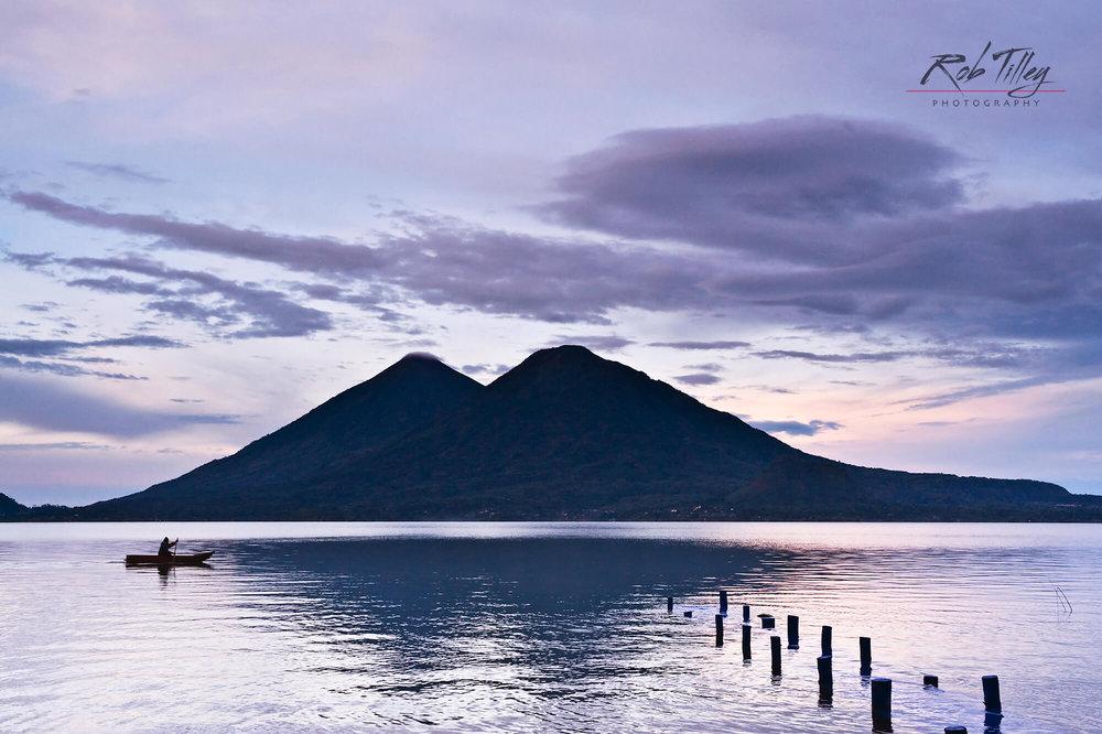 Lake Atitlan Fisherman