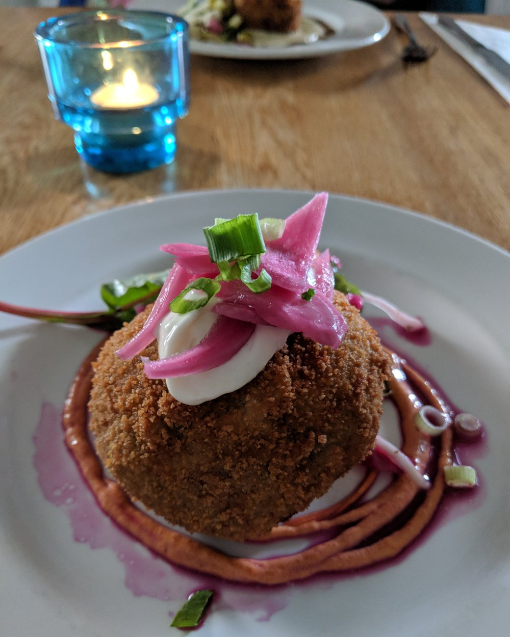 Pulled pork Scotch egg