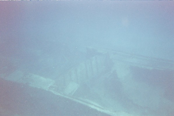 - ...and finds a shipwreck.