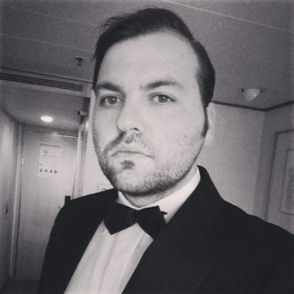 How often do you get to dress like James Bond for dinner?