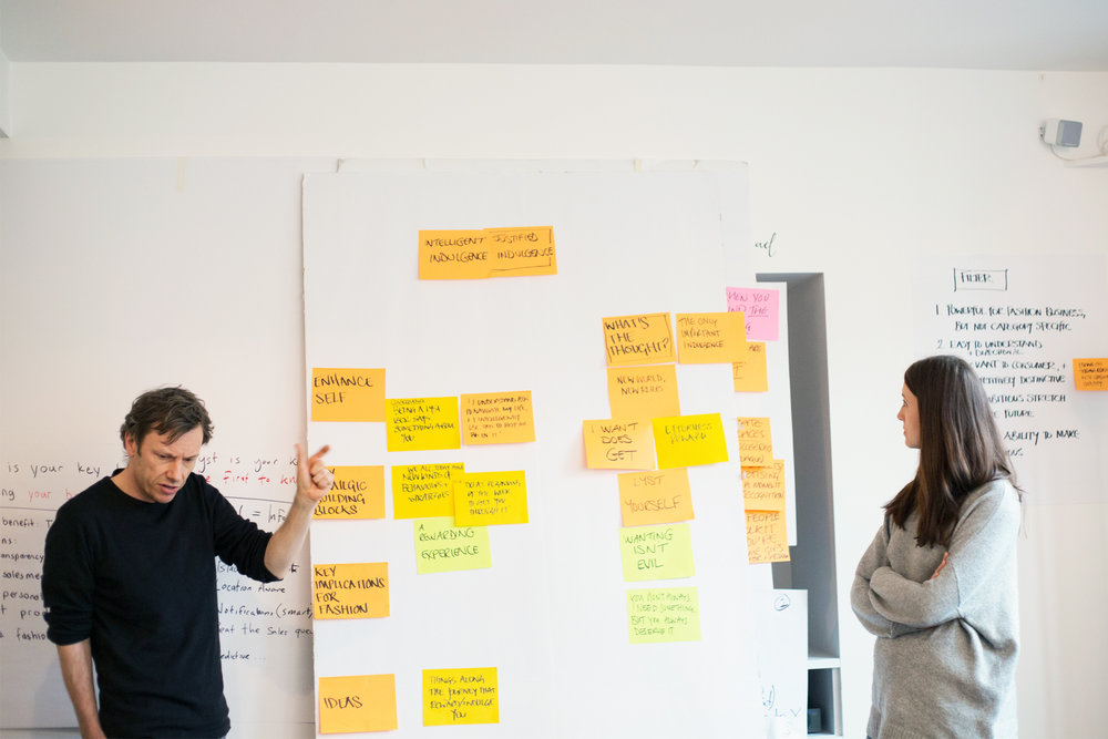 We'll need everybody - We work with cross-functional teams – it's the best way to spark new ideas. And it gives everybody a shared sense of being in this together.