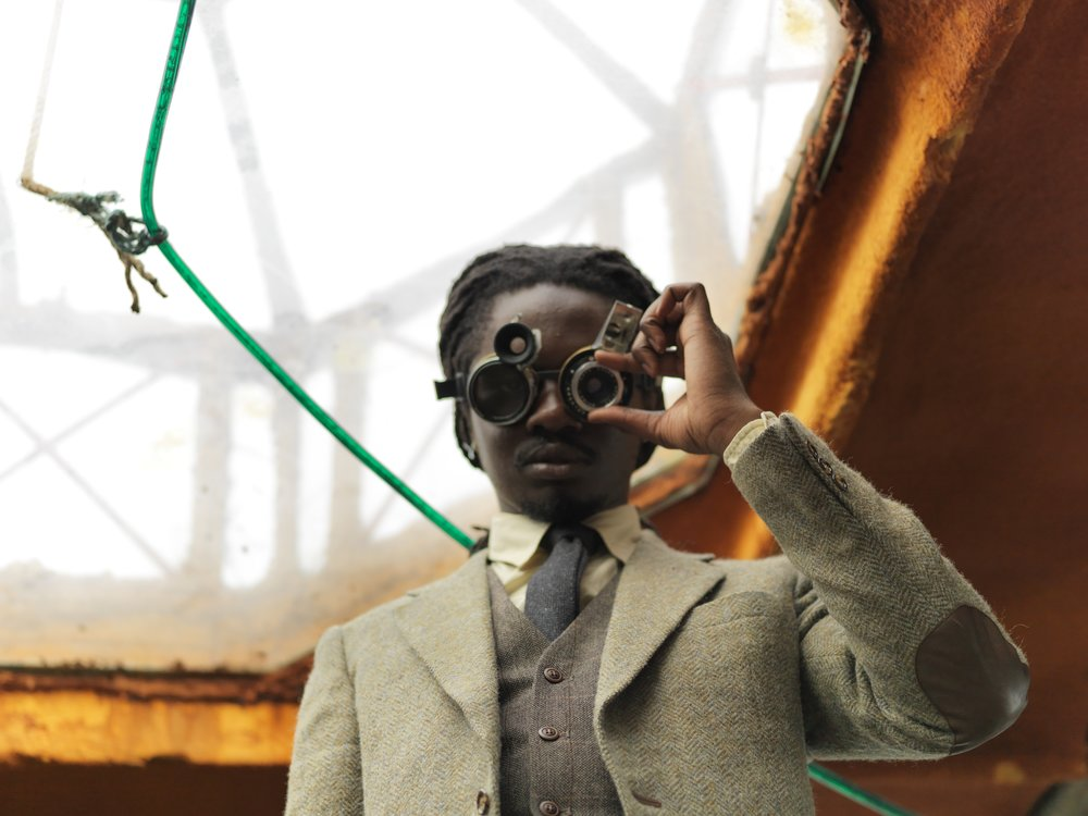 Finding Fanon (2015) Larry Achimapong and David Blandy, photography by Claire Barrett