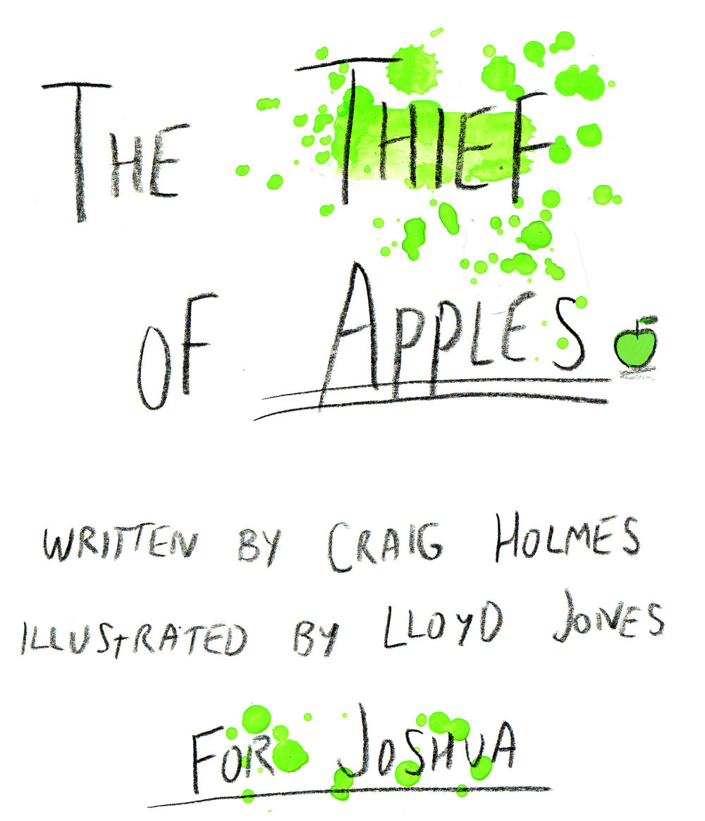 The Thief of Apples, 2016, self-published