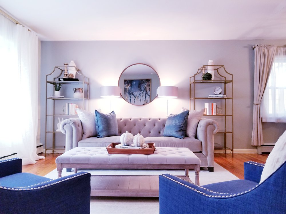 Occupied Home Staging - Montclair, NJ