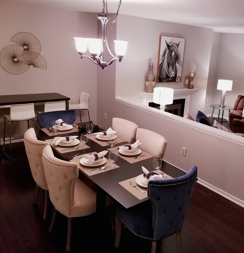 Occupied Home Staging - Cherry Hill, NJ