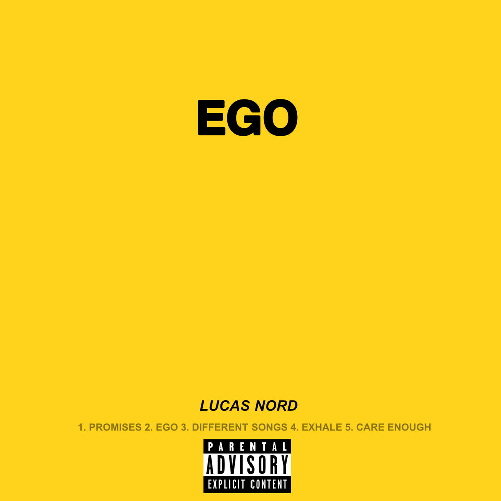 'EGO'OUT NOW!  - Lucas Nord's new EP, 'EGO' is out now! Click below to Listen and Purchase!