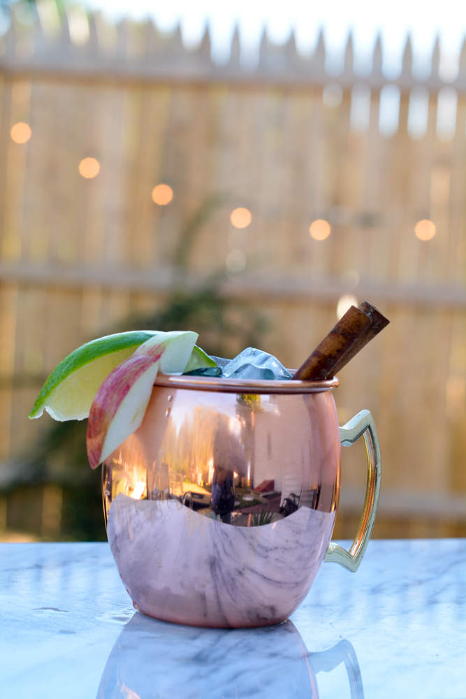Clean Fall Moscow Mule Recipe