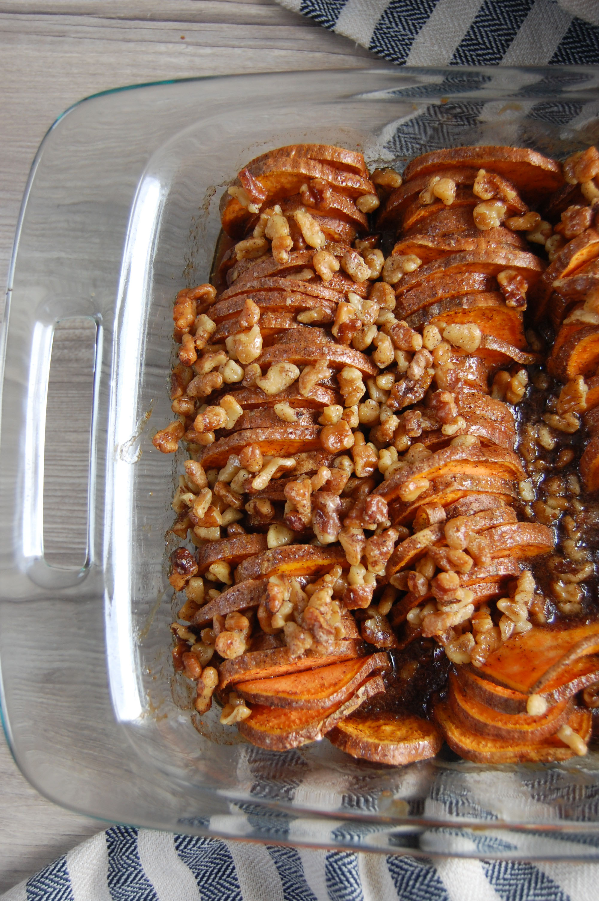 Blissfully Lively Maple Sweet Potatoes