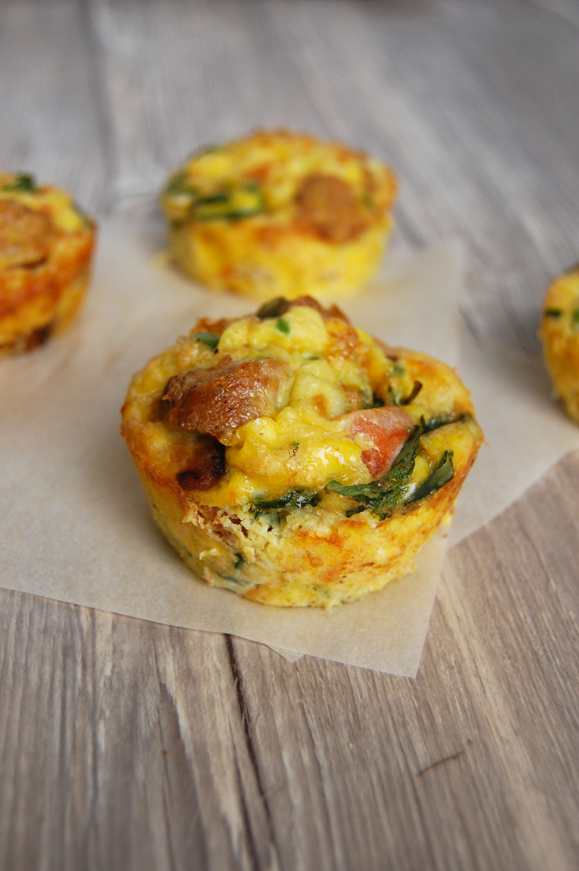 breakfast frittatas
