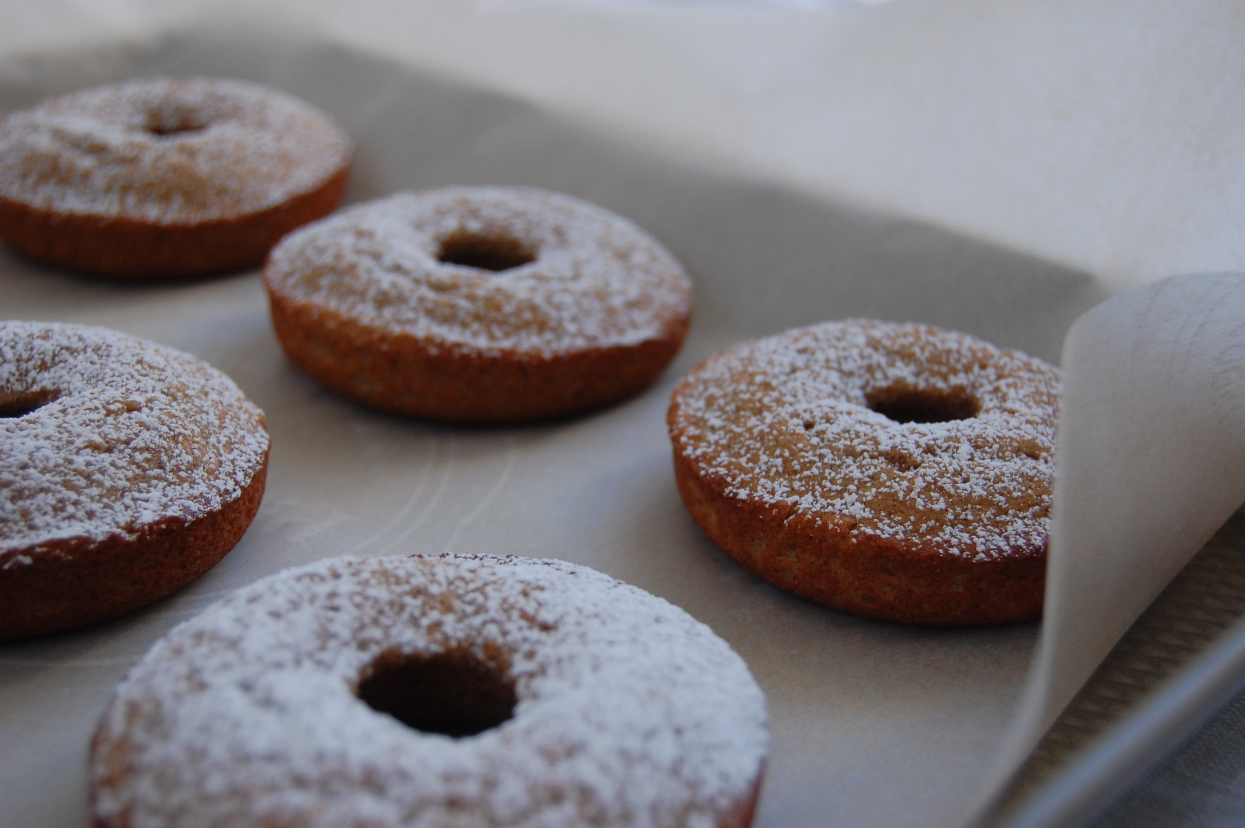 BL Eggnog Cinnamon Donuts