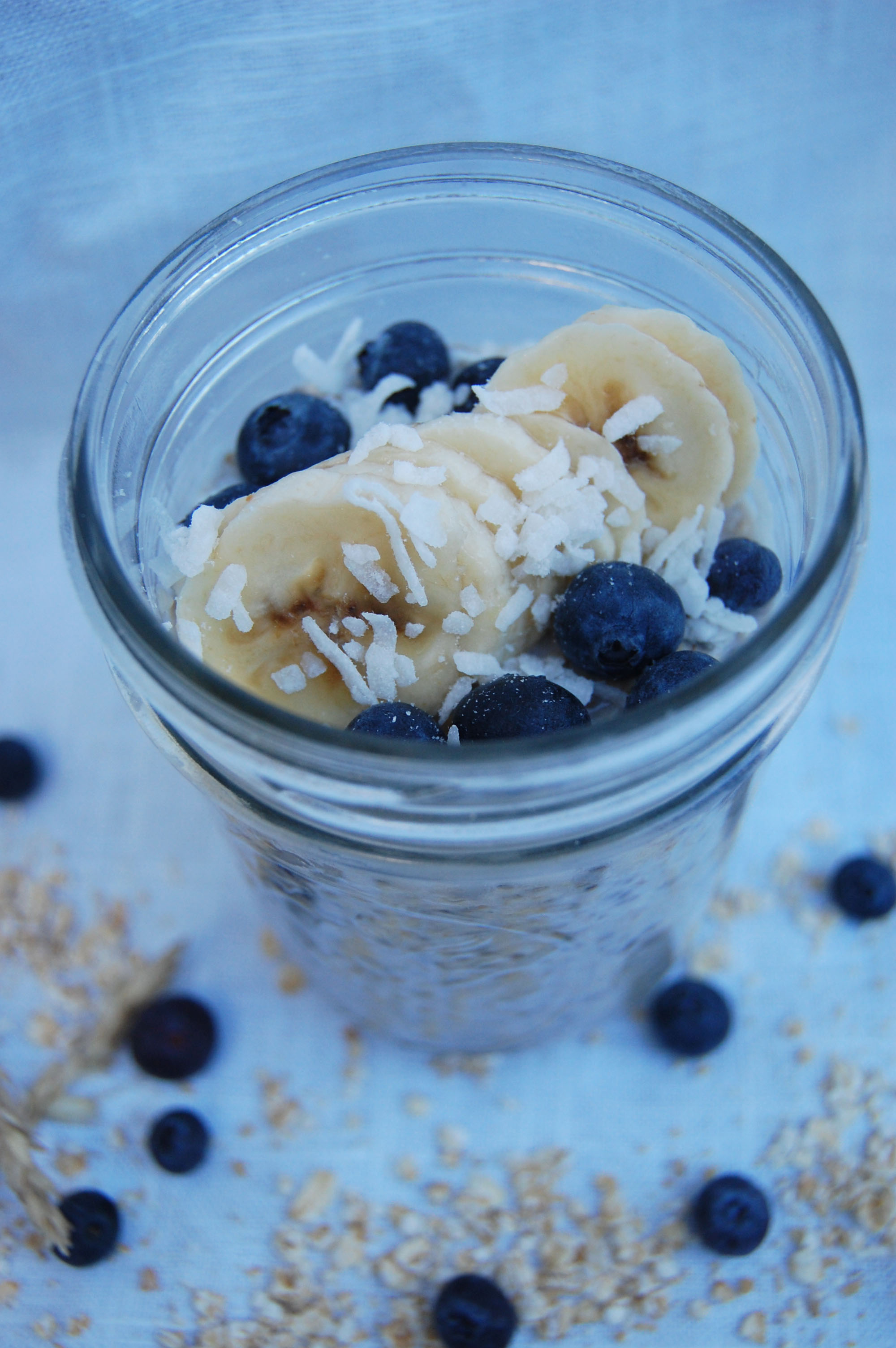 Blissfully Lively Overnight oats