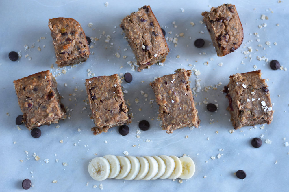 Blissfully Lively Breakfast Bars