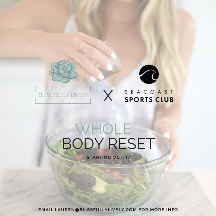 BL x SSC Whole Body Reset