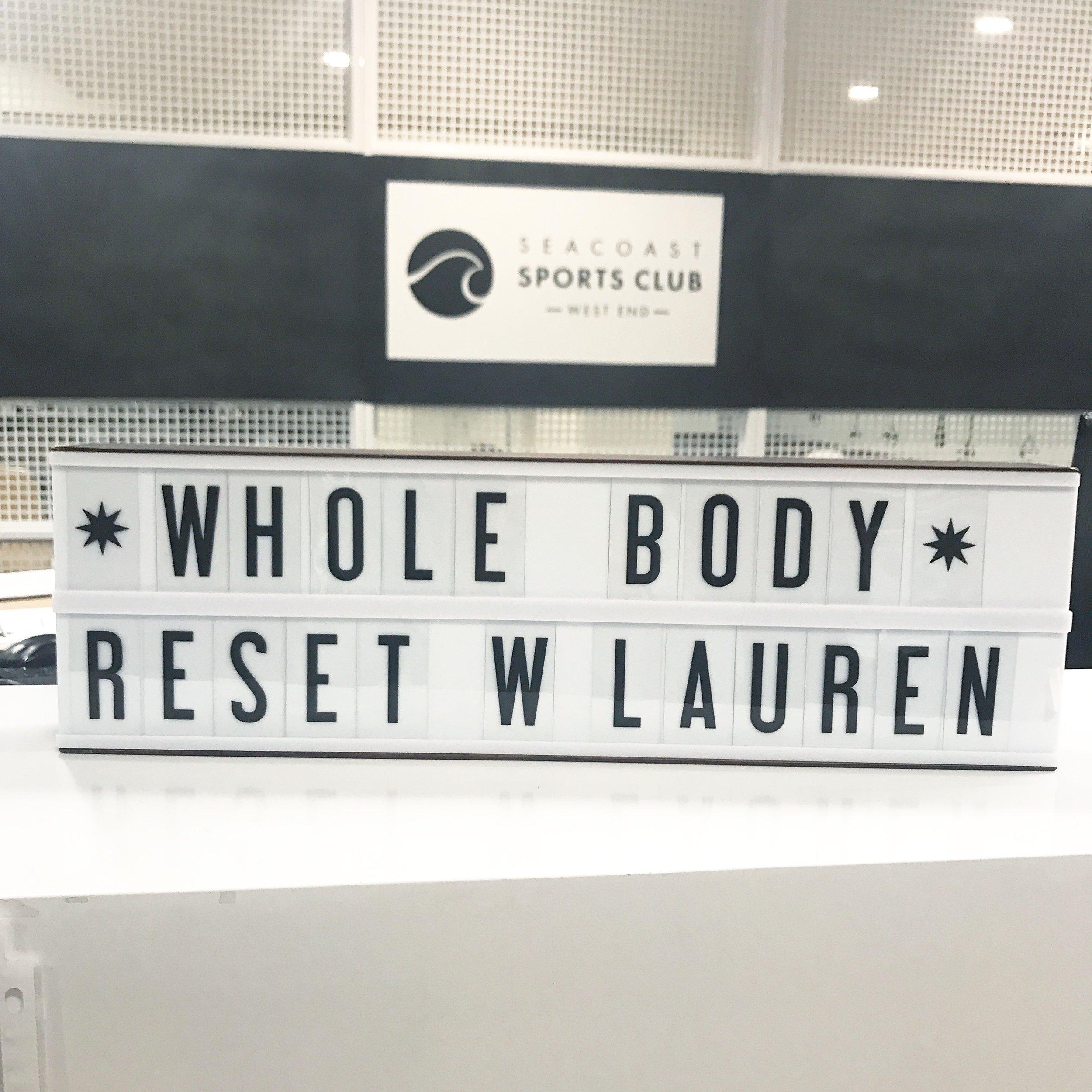 Bl Whole Body Reset
