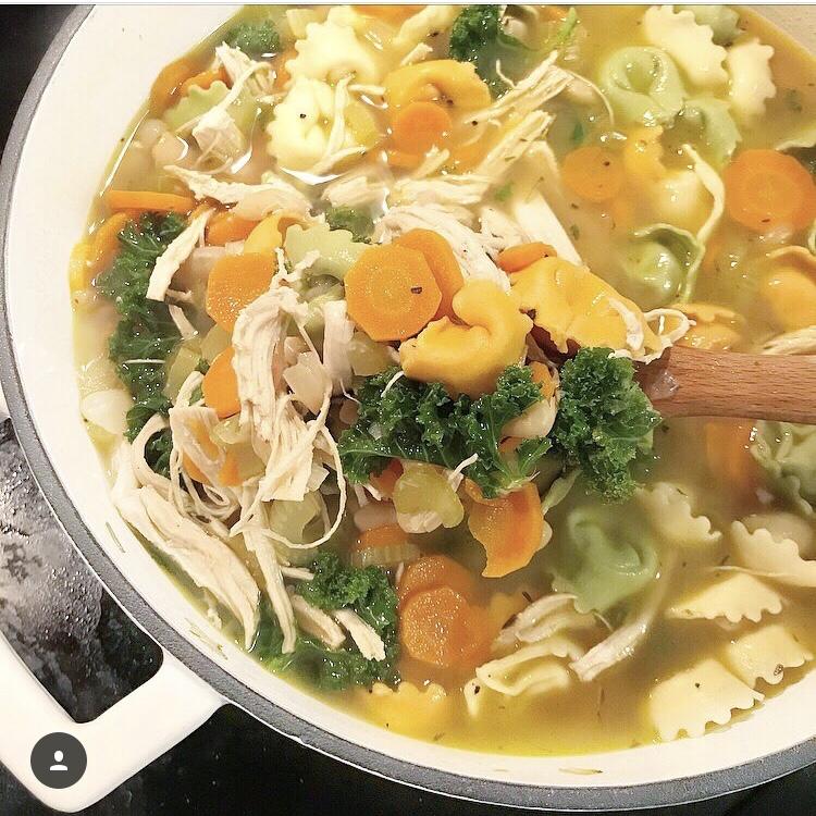 BL Recipes: Chicken Tortellini Soup