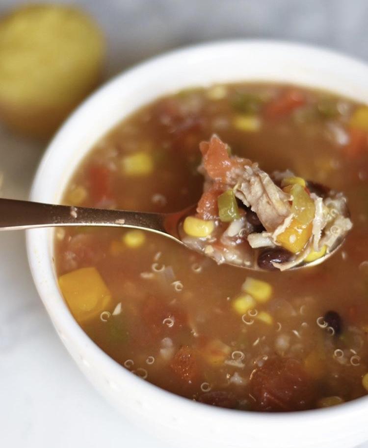 BL Recipes: Chicken and Quinoa Taco Soup