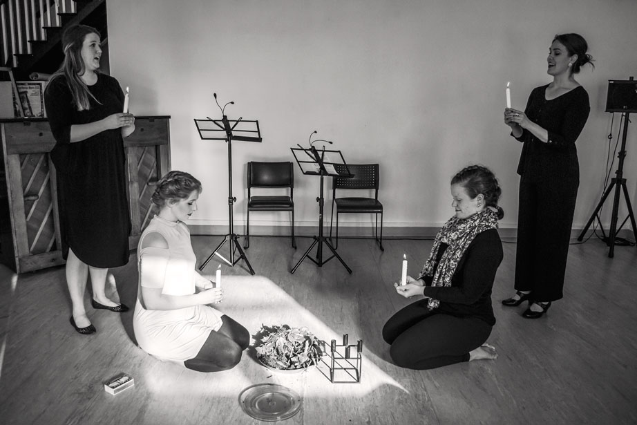 Let Evening Come - A multidisciplinary show that incorporates the music of Chausson, Debussy, Greig, and Strauss, alongside original poetry and contemporary folk song arrangements. We even threw in an accordian, because why not? Featuring performers Caroline Whalen, Ethan Lawler, Frietzen Kenter, Jacob Caines, Megan Johnson, Willem Blois, and Zoë Mackey-Boehner.Photo: MJ Photographics