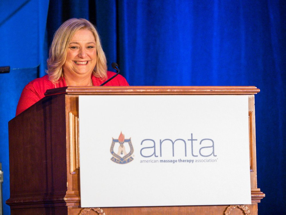 AMTA National President Joan Nichols
