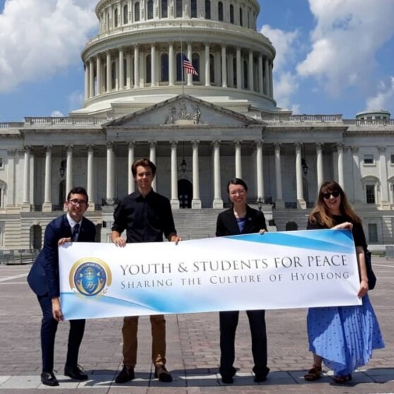 <strong>Youth and Students for Peace</strong>Impacting the world through service.