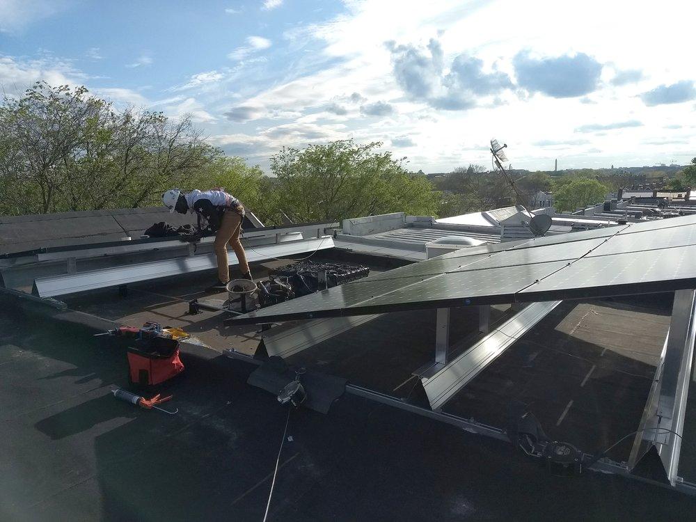 Installing solar panels on multi-family housing  | GRID Alternatives Greater Los Angeles
