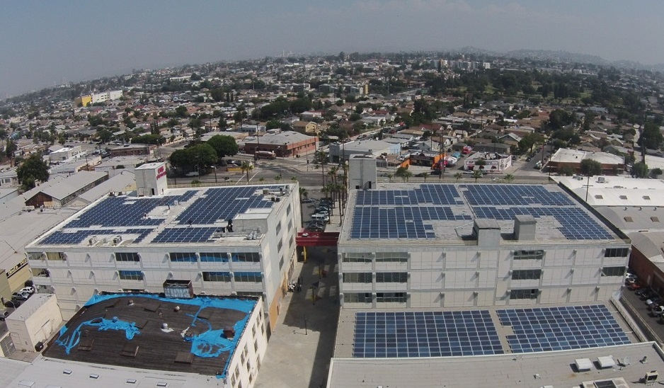 El proyecto solar de 343 kilovatios en Boyle Heights  | Los Angeles Business Council