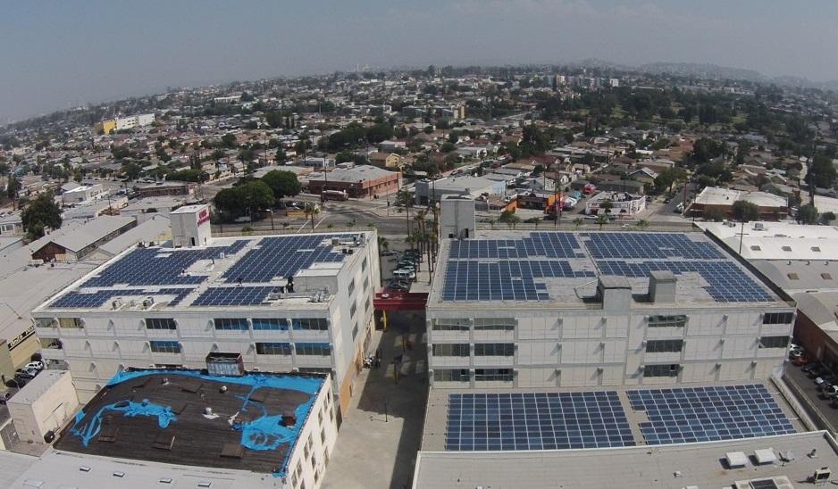 El proyecto solar de 343 kilovatios en Boyle Heights  | Los Angeles Business Council