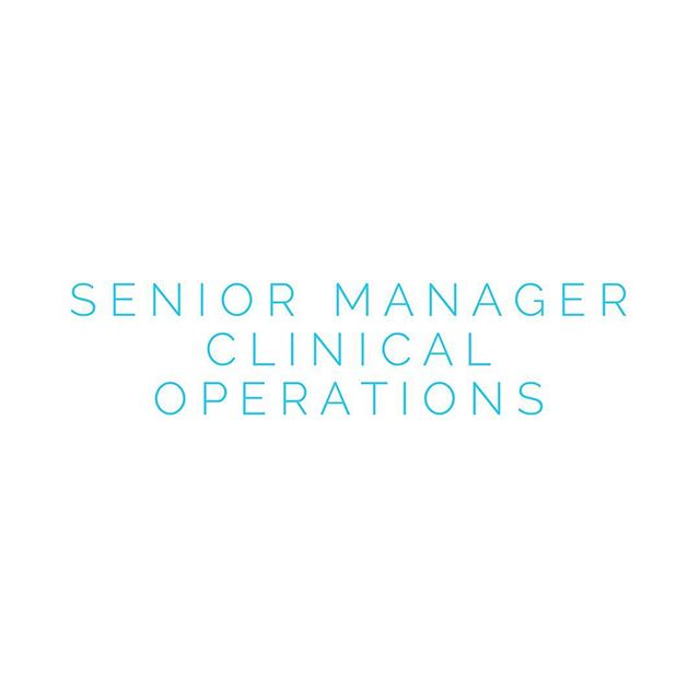 Looking for a Senior Manager, Clinical Operations based in Woodcliff Lake, NJ. If interested please reach out here! #talentoptions #recruiterlife #jobs